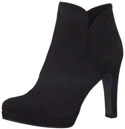 c4783aa997 Tamaris Dámske členkové topánky 1-1-25316-21-001 Black 36