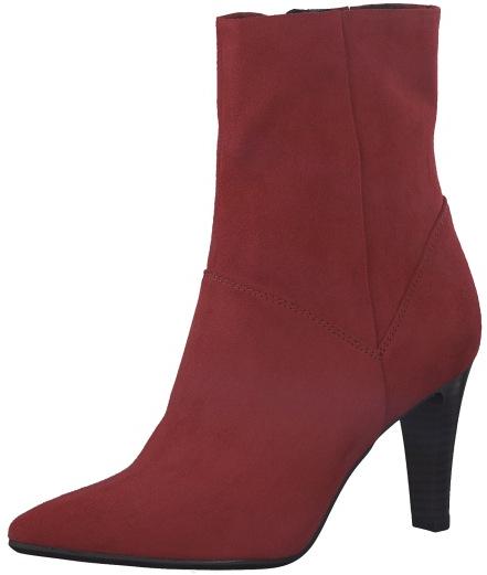 Tamaris Dámské kotníkové boty 1-1-25367-21-515 Lipstick 38