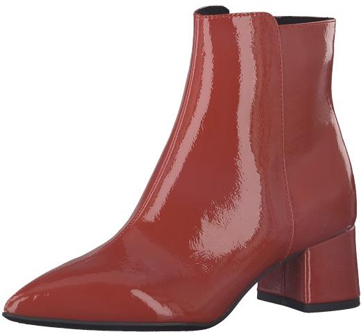 Tamaris Dámské kotníkové boty 1-1-25371-21-520 Chili Patent 36