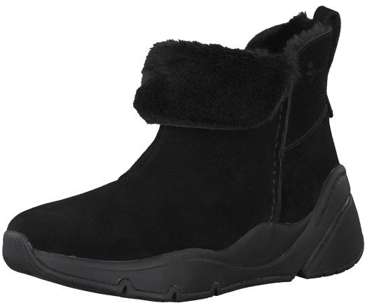 0f5384102e Tamaris Dámské kotníkové boty 1-1-26402-21-007 Black Uni 37