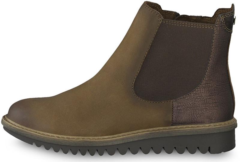 2094fa554334 Tamaris Dámske členkové topánky 1-1-26409-31-394 Espresso comb 40