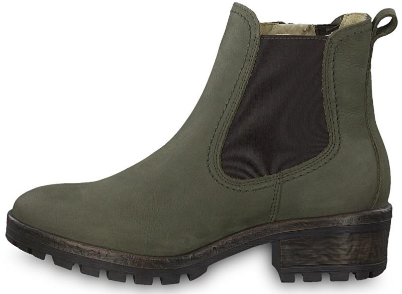 68fc5239b2da Tamaris Dámske členkové topánky 1-1-26420-31-722 Olive 40