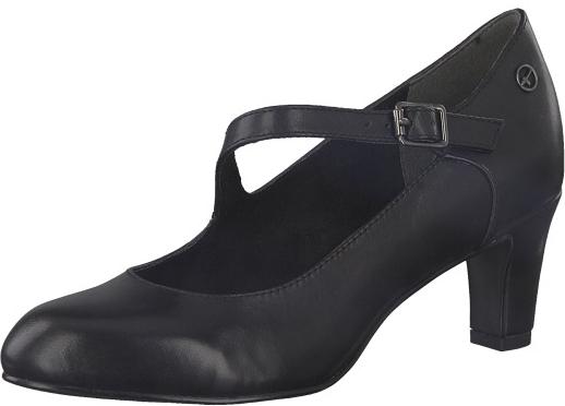 Tamaris Dámské lodičky 1-1-24402-21-003 Black Leather 39