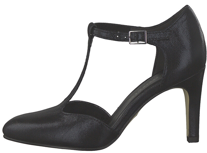 Tamaris Pompe pentru femei 1-1-24426-33 -058 Black Metal lic 36