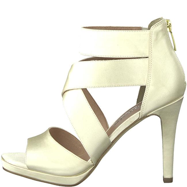 834204bdff558 Tamaris Dámské sandále 1-1-28038-30-179 Champagne 38