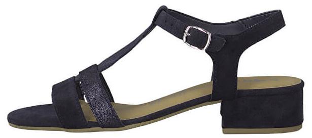 bb8fdc2454ba2 Tamaris Dámské sandále 1-1-28119-22-805 Navy 38