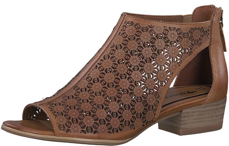 099edcf5df5f Tamaris Dámske sandále 1-1-28140-20-305 Cognac 39