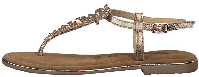 Tamaris Dámske sandále 1-1-28143-22-952 Rose Metallic 39