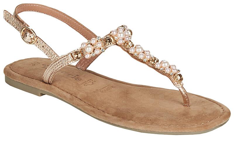 024364d881a1 Tamaris Dámské sandále 1-1-28152-22-952 Rose Metallic 39