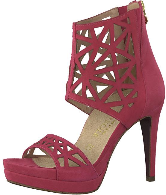 Tamaris Dámske sandále 1-1-28303-20-513 Fuxia 36 6693594eba