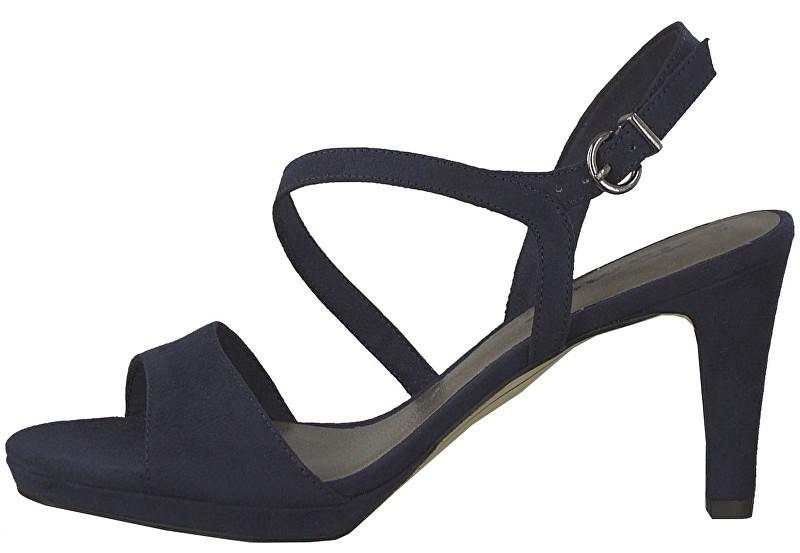 f654f0335d3e Tamaris Dámské sandále 1-1-28318-22-926 Navy 37