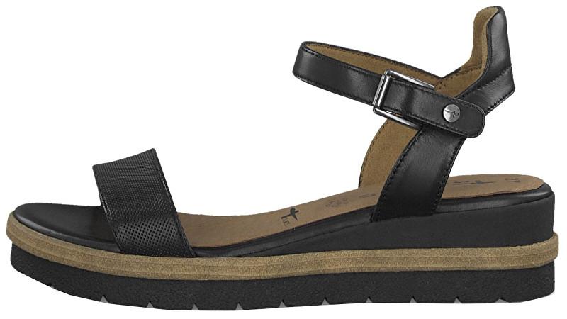 f68bf07dba243 Tamaris sandale cierne 41 levně | Mobilmania zboží