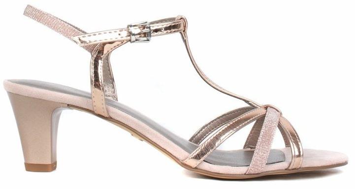 899fa8ccea956 Tamaris Dámske sandále 1-1-28329-22-586 Rose Met/Glam