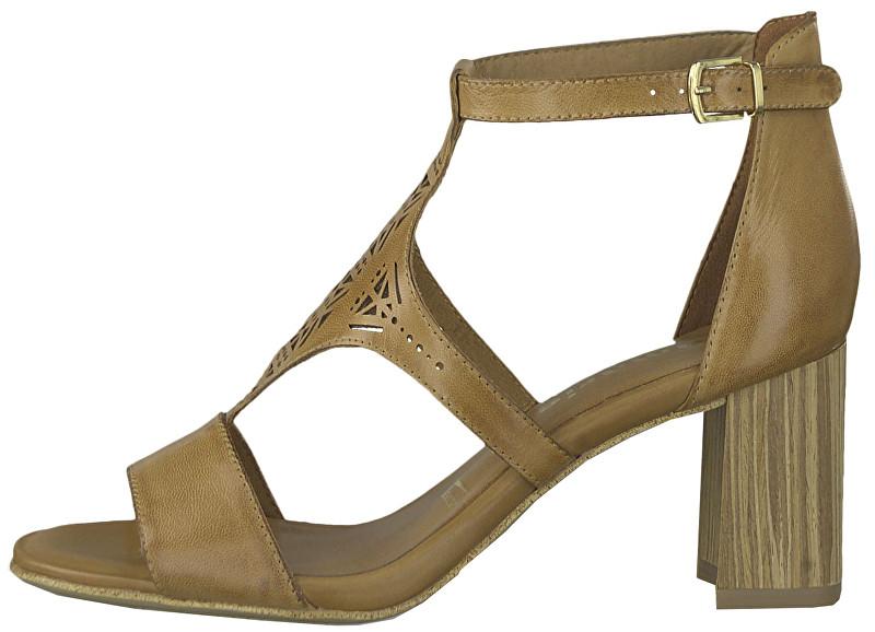 a80e2e0e5dcc2 Tamaris Dámske sandále 1-1-28387-22-305 Cognac 38