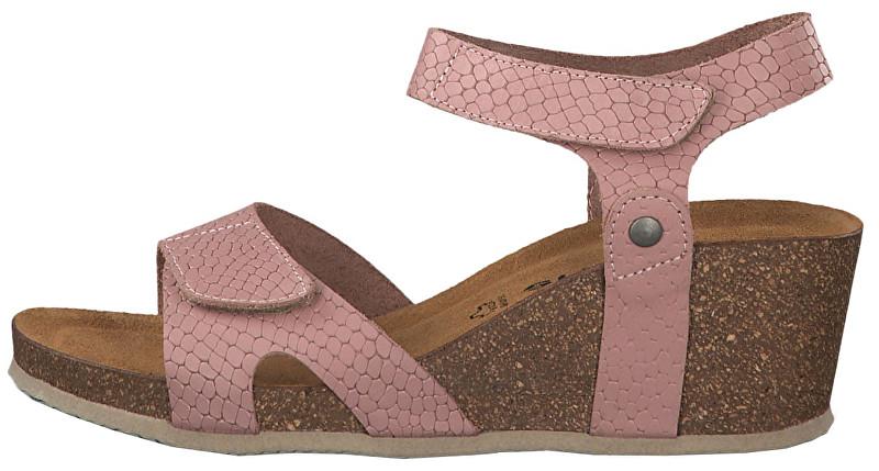 5a5e45f2d263f Tamaris Dámske sandále 1-1-28700-22-530 Pink Structure 41