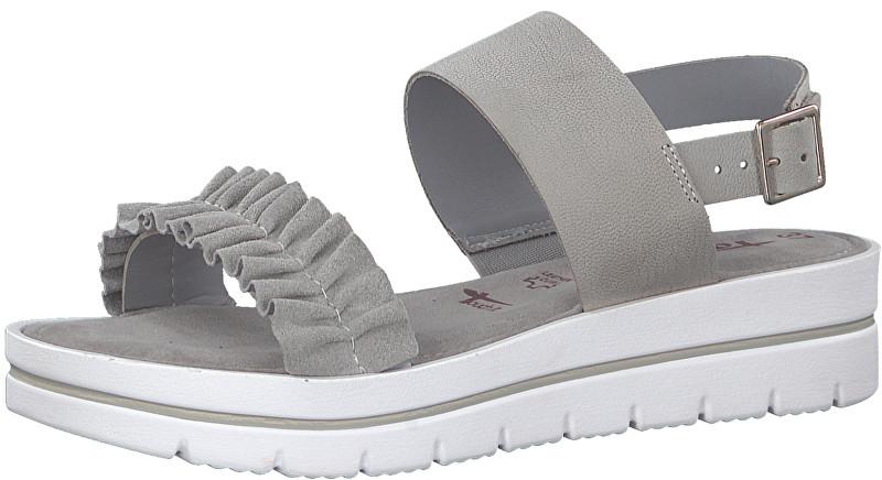 2ad1a26d62a28 Tamaris Dámské sandále 1-1-28702-20-207 Lt Grey 41