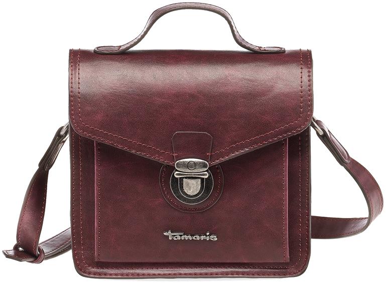 Tamaris Elegantná crossbody kabelka Adriel Crossbody Bag 2328172-630 Vino