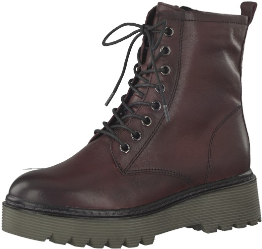 Tamaris Elegantní dámská obuv 1-1-25709-39-549 Bordeaux 39