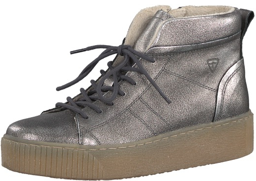 b311bec20994 Tamaris Elegantné dámske členkové topánky 1-1-25758-29-915 Pewter 38