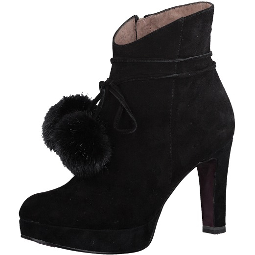 490dcb858d Tamaris Elegantné dámske členkové topánky 1-1-25948-39-001 Black 38