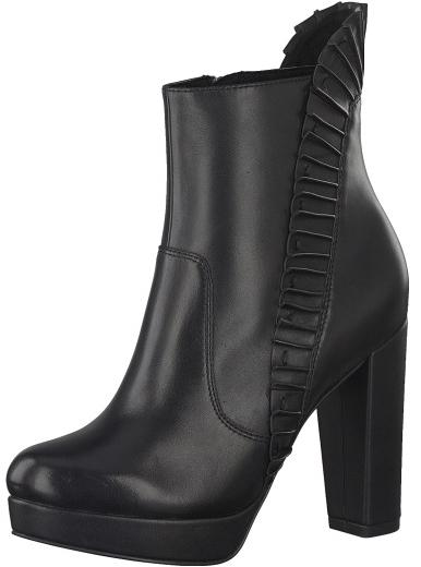 Tamaris Elegantné dámske nízke čižmy 1-1-25301-29-001 Black 36 d1d844798eb