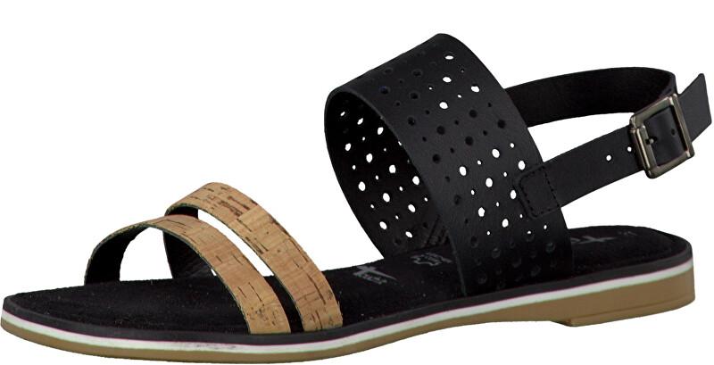 Tamaris Elegantní dámské sandále 1-1-28118-28 Black Comb 38 1048f30143
