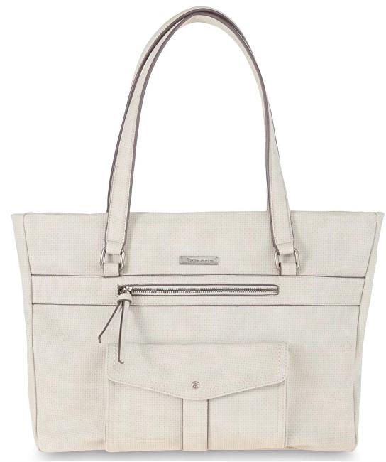 Tamaris Elegantní kabelka Adriana Shopping Bag 2651181-204 Light Grey