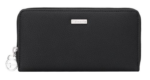 Tamaris Portofel Debra Big Zip Around Wallet 7187191-001 Black