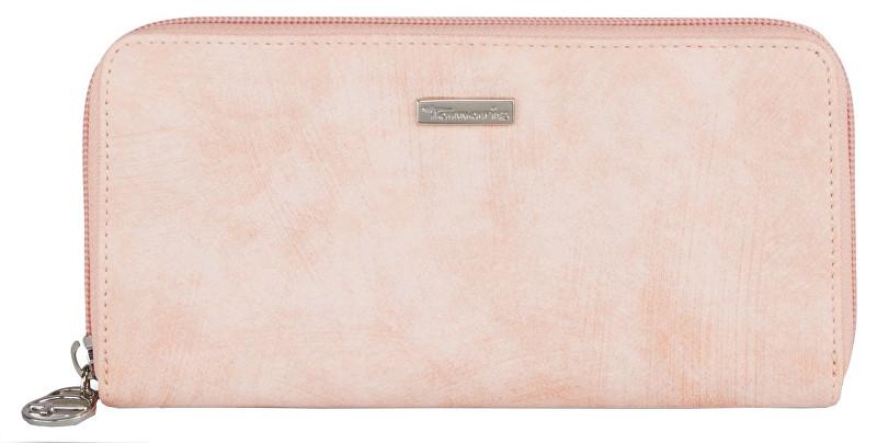 Tamaris Portofel Elegant Elsa Big Zip Around Wallet 7180191-590 Rose Comb.