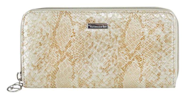 Tamaris Portmoneu Mirela Big Zip Around Wallet 7186191-939 gold comb.