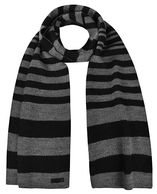 Trussardi Eșarfă bărbătească tricotată Vanise Mistolana 57Z00135-K601 Black / Grey