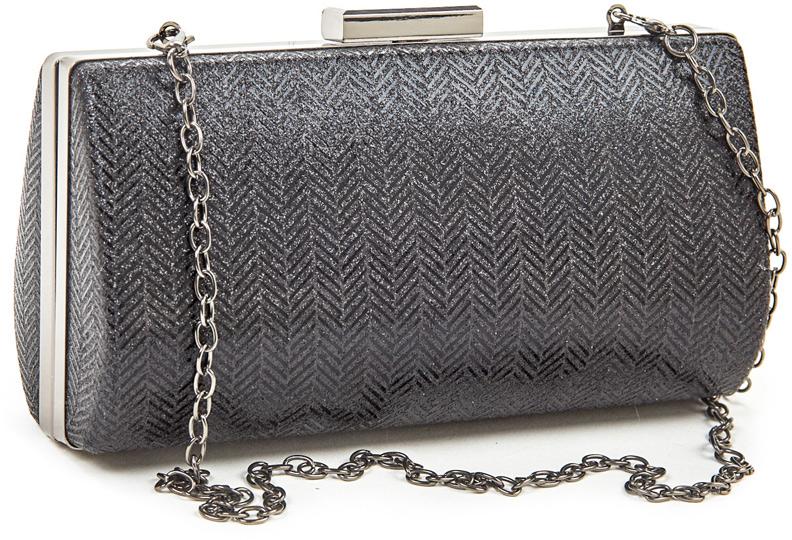 Verde Dámske listová kabelka 01-1281 Black
