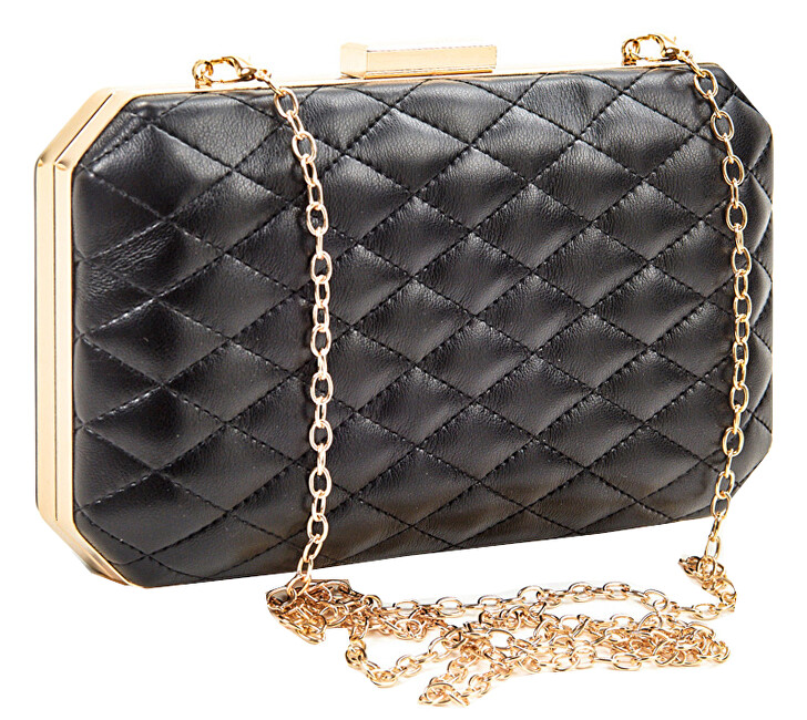 Verde Dámske listová kabelka 01-1282 Black