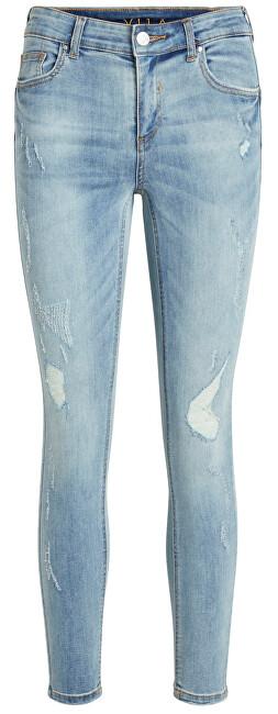 Vila VICOMMIT RWSS 7/8 Jeans PUSHUP MBD PANT-NOOS Medium Blue Denim XL