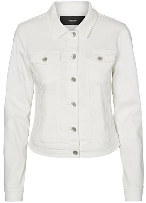 Vero Moda Femei jacket Hot Soya Ls Denim Jacket Mix Noos Bright White L