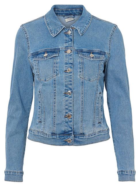 124efeb1a697 Vero Moda Dámska bunda Hot Soya Ls Denim Jacket Mix Noos Light Denim Blue XS