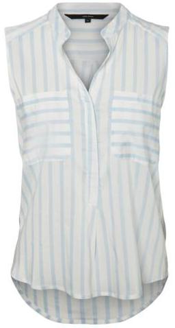 Vero Moda Dámská halenka Erika S/L Stripe Shirt Noos Cashmere Blue XS