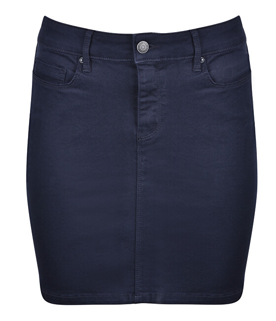Vero Moda Dámska sukňa Hot Seven Mr Short Skirt Color Night Sky S