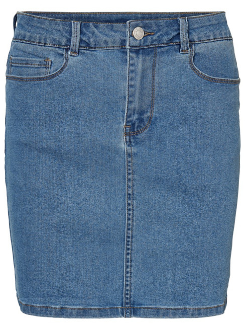 Vero Moda Fustă pentru femei Hot Seven Mr Short Skirt Denim Light Blue Denim L