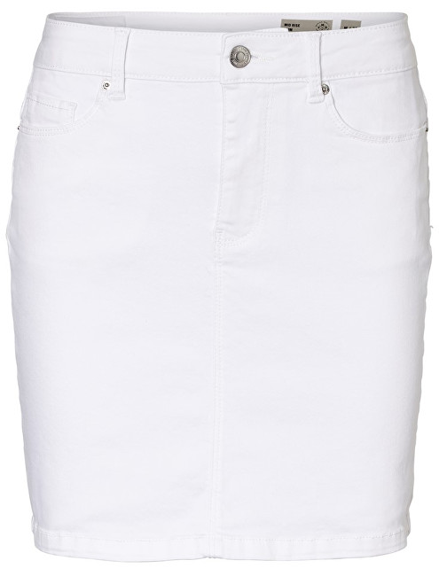 Vero Moda Dámska sukňa Hot Seven Mr Short Skirt Color Bright White M