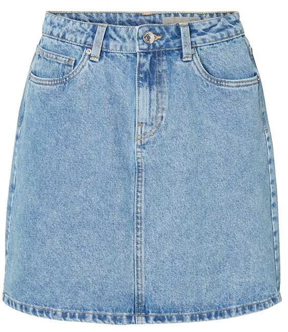 Vero Moda Dámska sukňa Kathy Hr Short Denim Skirt Mix Light Blue Denim S