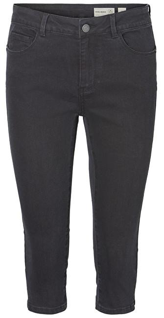 Vero Moda Pantaloni pentru femei Hot Seven Nw Dnm Slit Knicker Mix Noos Black S