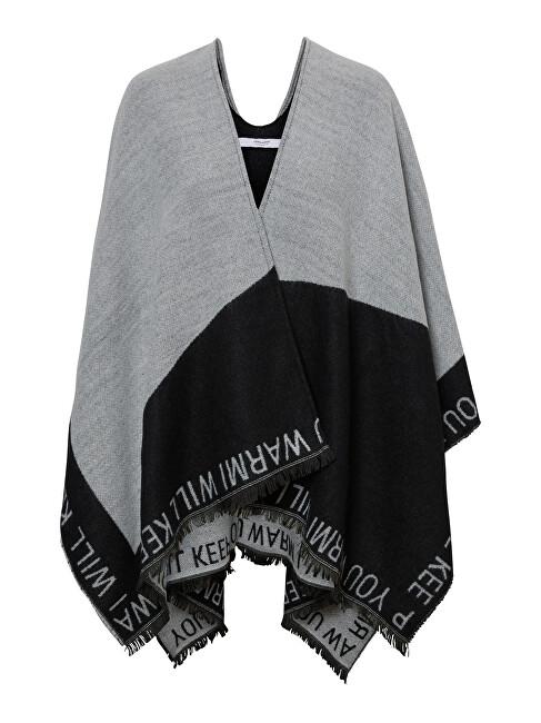 Vero Moda Poncho pentru femei VMNATALIE PONCHO Black