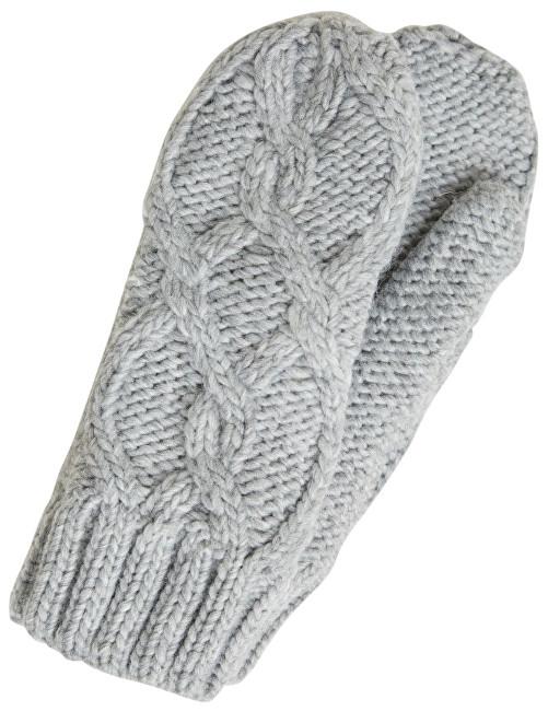 c7168cd4a9fe Vero Moda Dámské rukavice Cala Mittens Light Grey Melange