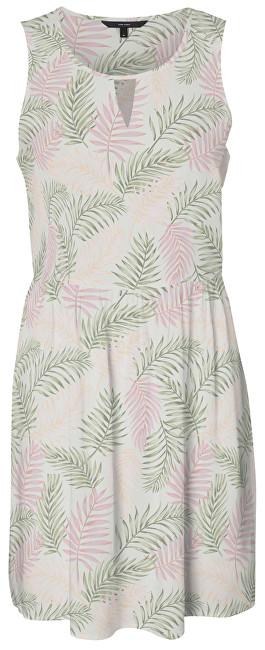 Vero Moda Dámske šaty Simply Easy Visc Sl Short Dress Leafy Hint of Mint L
