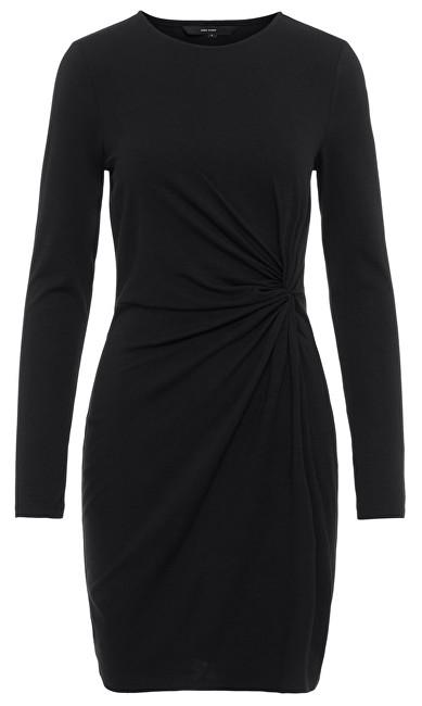 Vero Moda Doamnelor rochie Smia L/S Knot Dress D2-1 Black XS