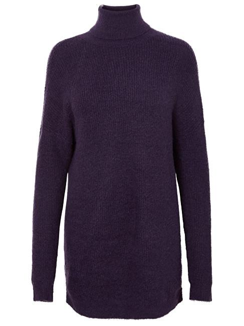3af3ffff6b6e Vero Moda Dámske šaty Story Curve Ls Rollneck Dress Purple Velvet L