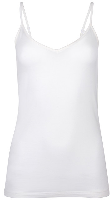 Vero Moda Dámske tielko Ava V- Single t Ga Snow White M