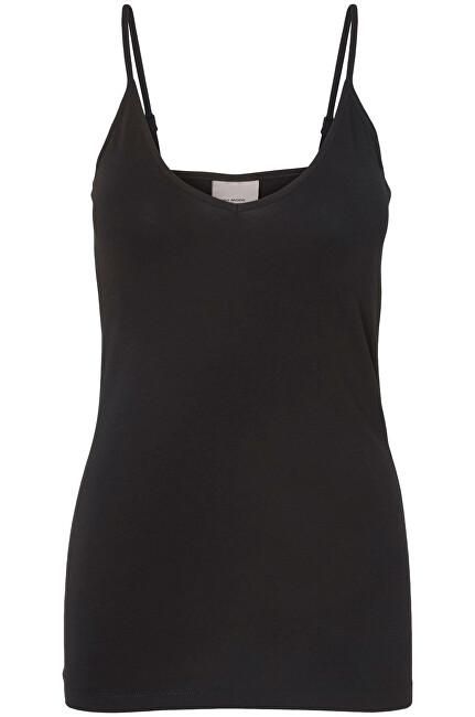 Vero Moda Rezervor pentru femei VMMAXI MY SOFT IN SINGLET GA NOOS Black S