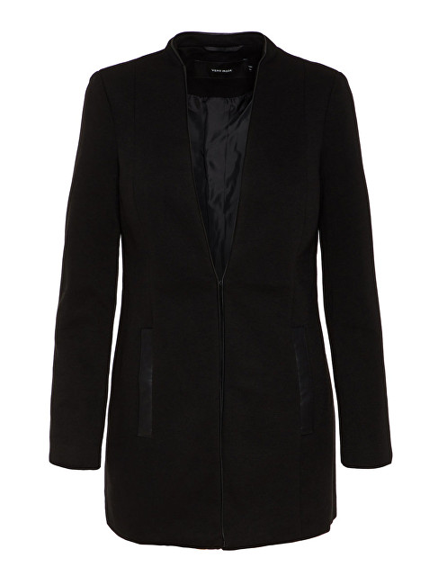 Vero Moda Blazer pentru femei Gail LS Long Blazer Black 38
